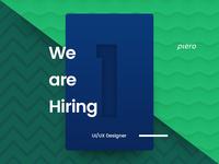 Hiring UI/UX Designer