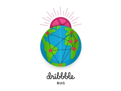 Dribbble Sticker Pack Playoff 2018 sky motivation inspiration connected earth rising sun life bug 2018 playoff sticker dribbble