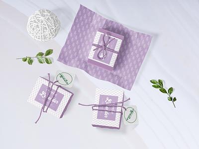 Organiko's Lavender Soap package mockup lavender ai packaging packagedesign soap dribbbleweeklywarmup