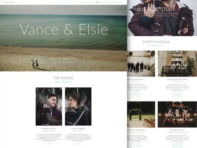 Love story page lovestory love design web page web site web design web
