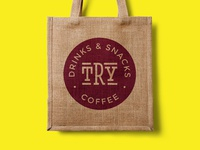 TRY Coffee Identity Design