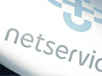netservices logo design