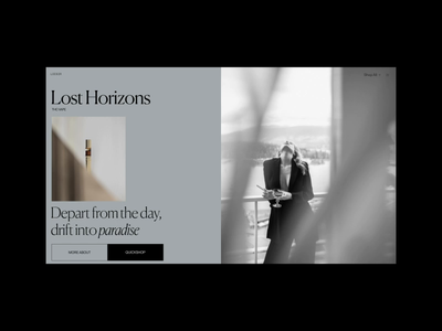 Loisir Homepage Animation