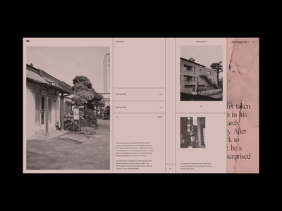 M. Editorial Website Tokyo Film Photography interaction motion photography film typography promo animation video website web ux ui