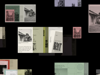 M. Editorial Website Grid Animation