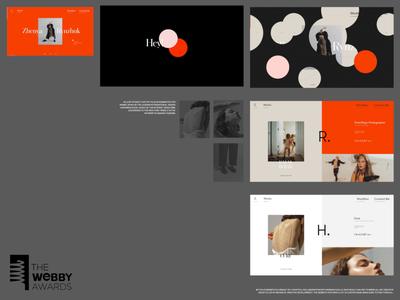Running for Webby People's Choice Award interface motion video award folio webby typography promo web website ux ui