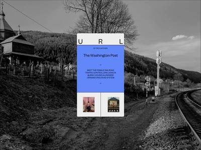 Ukrainian Railroad Ladies Mobile Designs motion interaction typography promo interface animation video website web ux ui