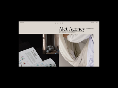 Alet Services Grid Animation synchronized.studio synchronized zhenyary zhenya design promo interface animation website video ux