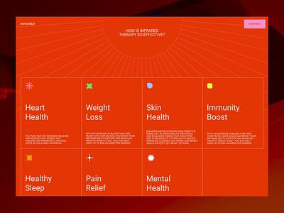 Infrared Promo Website grid synchronized.studio synchronized zhenyary zhenya interface animation website video ux ui