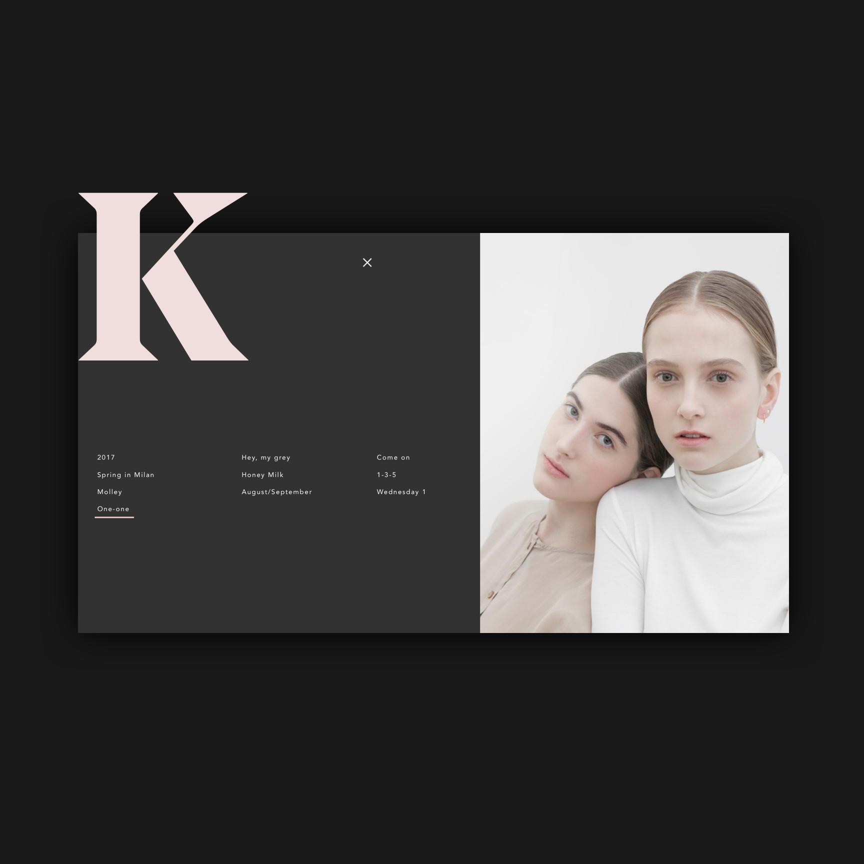 Kate menu