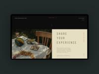 Open Restaurant Day Event Website Concept