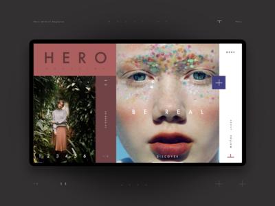 Hero Magazine Home Page