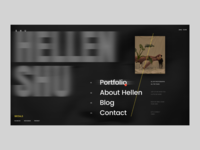Shu Hellen Photographer Website Open Menu