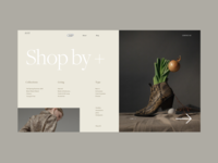 AVST Menu Preview Page models homepage blog e-commerce online store shop menu photo typography promo design fashion concept website interface grid web ux ui