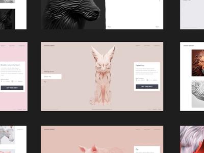Max Shkret Digital Artist Website Just Picked Up AWWWARDS