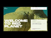 Red Planet PR Agency Homepage Alternative Version
