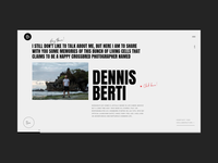 Dennis Berti Honest Visual Storyteller Bio Animation