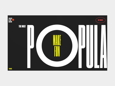 The best of pop culture homepage animation