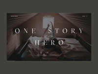 Rafal Bojar One Story Hero Promo Website Animation
