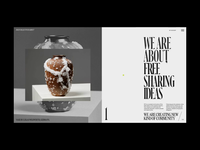 DSGN Collective Hover and Slider Animation