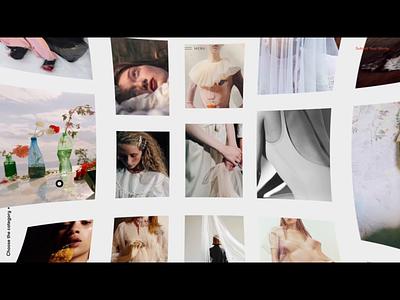 Folio Showreel 2019 motion video interaction grid showreel animation interface website web ux ui