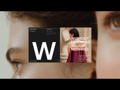Folio Showreel 2019 folio showreel motion typography promo concept interaction animation video website web ux ui