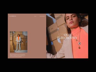 Limnia Fine Jewelry SOTD on AWWWARDS eshop ecommerce typography promo video animation website web ux ui