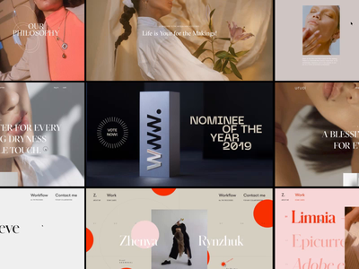 Awwwards Web Annual Nominations independent awwwards annual video animation website web ux ui
