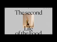M. Editorial Website Loading Animation