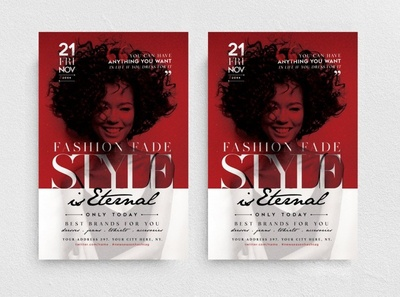 Style is Eternal Flyer Template
