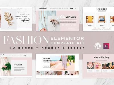 Fashion Feel - WooCommerce Elementor Template Kit woocommerce online shop modern model agency fashion elementor ecommerce creative clean chic boutique beauty