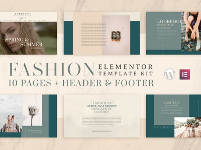 Infinity | Elementor Template Kit fashion woocommercewebsite template elementor woocomerce wordpress