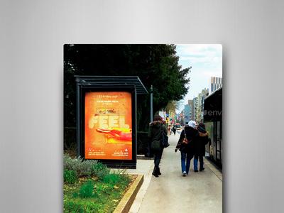 Bus Stops Vol.2 Mock-Ups Pack