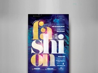 Fashion Live Show Flyer Template