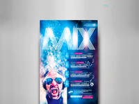 Mix Show Flyer Template