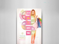 Shopping Tour Flyer Template
