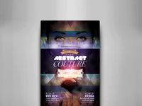 Abstract Couture Flyer Template