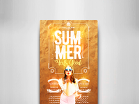 Summer Feels Good Flyer Template