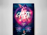 Craze Fest Flyer Template