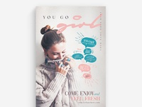 You Go Girl Flyer Template