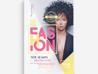 Fashion Show Vol.4 Flyer Template