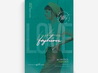 Love Fashion Flyer Template