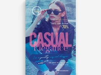 Casual Elegance Flyer Template