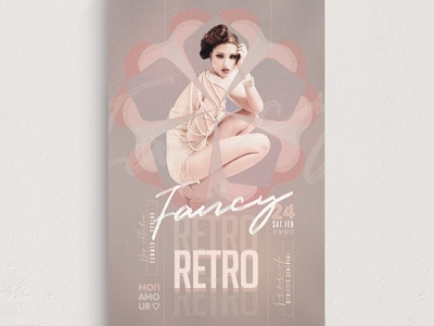 Retro Fancy Flyer Template