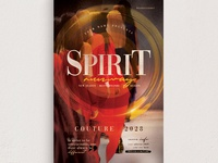 Spirit Runway Flyer Template