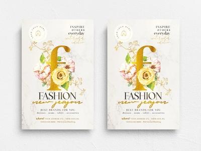 New Season Fashion Flyer Template