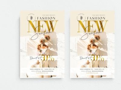 Fashion New Season Flyer Template