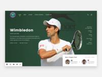 100 Weekdays Of UI - Day 001 - Wimbledon #2