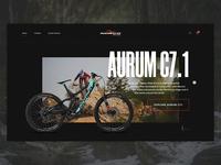 Norco Website Concept