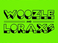 Woozle and Lorax – bolt logo